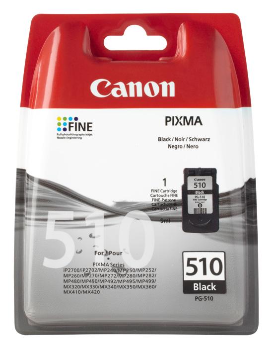 canon original pg 510 tinte patronen pixma mp250 mp280 mp495 mp270 mp490 ebay. Black Bedroom Furniture Sets. Home Design Ideas