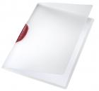 6x Leitz 4175 Klemmmappe ColorClip, A4, PP, rot