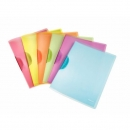 6x Leitz 4176 Klemmmappe ColorClip Rainbow, A4, PP, sortiert