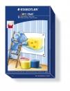 Staedtler Fingerfarbe Noris Club, sortiert, Kunststoff-Töpfchen - 6 x 100 ml