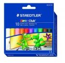Staedtler Plastilin-Knete Noris Club 10 Farben