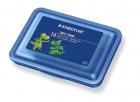 Staedtler Plastilin-Knete Noris Club Schulbox, sortiert/blau, 14 Stangen