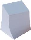Ersatzzettelklotz - weiß, ca. 700 Blatt, lose