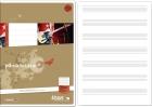 Musikheft A4 8 Blatt 80g/qm 12 Notensysteme + Hilfslinien