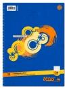 Collegeblock LIN28 A4 80 Blatt 70g/qm 5mm kariert mit Randlinien