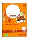 Vokabelheft LIN53 A6 32 Blatt 80g/qm liniert