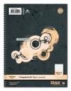 Collegeblock A5 80 Blatt 70g/qm 5mm kariert
