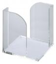Maul Zettelbox 9 x 9 cm, 102 x 109 x 102 mm, glasklar
