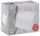 Toppoint® Karteikasten Plastik -DIN A6, transparent