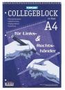 Collegeblock - DIN A4, 80 Blatt, liniert