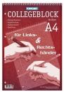 Collegeblock - DIN A4, 80 Blatt, kariert