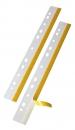 Veloflex® Heftstreifen HEFTFIX® - selbstklebend, 292 mm, glasklar, 10 Stück