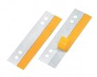Veloflex® HEFTFIX®, 105 mm lang, Hartfolie sk, Lochabstand 60 u. 80 mm, 100er SB-Pckg. Glasklar