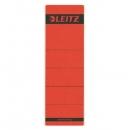 Leitz 1642 Rückenschilder - Papier, kurz/breit, 10 Stück, rot