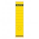 Leitz 1640 Rückenschilder - Papier, lang/breit, 10 Stück, gelb