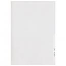 Leitz 4106 Sichthülle Premium, A4, PVC-Hartfolie, dokumentenecht, glasklar
