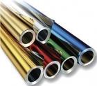 Metallfolie - gold/grün, 50 cm x 10 m