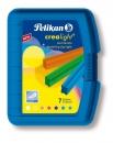 Pelikan Wachsknete Crealight® 222/7, 100 g, sortiert, 7 Stangen