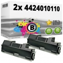 2x Alternativ Utax Toner 4424010110 Schwarz