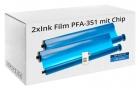 2x Alternativ Philips Thermo-Transfer-Band PFA-351/352