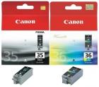 Original Canon Patronen PGI 35 + CLI 36 Sparset