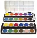 Geha Deckfarbkasten - 24 Farben + 1 Deckweiß