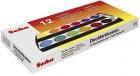 Neutral Deckfarbkasten,12 Farben + 1 Deckweiß