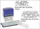 COLOP® Stempel zum Selbersetzen - für max. 4 Zeilen