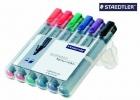 Staedtler® Flipchart-Marker Lumocolor® 356, nachfüllbar, 2 mm, STAEDTLER Box mit 6 Farben