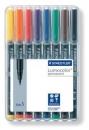 Staedtler Feinschreiber Lumocolor permanent S - 8 Farben
