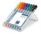 Staedtler Feinschreiber Lumocolor non-permanent M - 8 Farben
