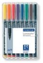 Staedtler Feinschreiber Lumocolor permanent M - 8 Farben