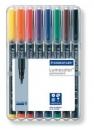 Staedtler Feinschreiber Lumocolor permanent B - 8 Farben