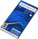 Briefumschläge DIN lang (220x110 mm), ohne Fenster, selbstklebend, 72 g/qm, 25 Stück