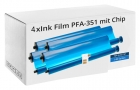 4x Alternativ Philips Thermo-Transfer-Band PFA-351/352