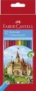 Faber-Castell Buntstifte CASTLE 12 Farben