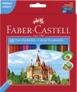 Faber-Castell Buntstifte CASTLE 48 Farben + Spitzer