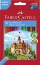 Faber-Castell Buntstifte CASTLE 36 Farben mit Spitzer