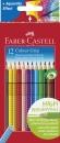 Faber-Castell Buntstift Colour GRIP 12 Farben