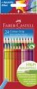 Faber-Castell Buntstift Colour GRIP 24 Farben