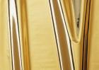 Klebefolie - 45 cm x 1,5 m, gold metallic, hochglanz