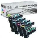 Alternativ Konica Toner QMS 5430 5440 5450 4er Set
