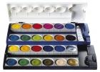 Pelikan Deckfarbkasten 735K/12, 24 Farben + 1 Deckweiß