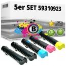 5er Alternativ Toner Set Dell N848N P614N R272N T222N