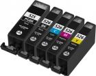 5x Alternativ Druckerpatronen mit Chip Canon PGI 525bk CLI 526
