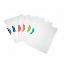 6x Leitz 4174 Klemmmappe ColorClip Magic, A4, PP, sortiert