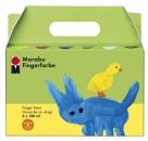 Marabu Fingerfarbe, 6er-Set, 6 x 100 ml