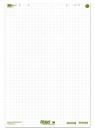 Ursus Green Flip Chart 68x99cm,5x 20 Blatt 80g/qm kariert