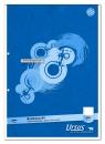 Briefblock A4 50 Blatt 70g/qm blanko, 2-Loch