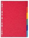 Exacompta Register Nature Future® - A4, blanko, Manila-Karton, 6-teilig, farbig